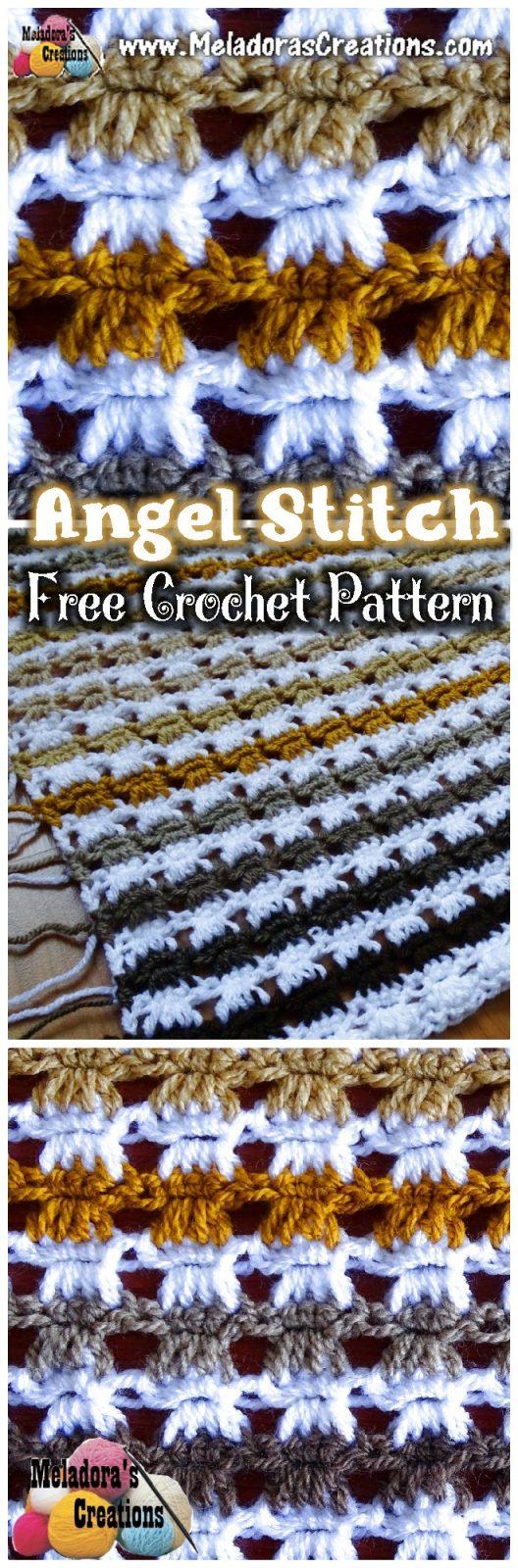 Angel Stitch - Crochet Stitch