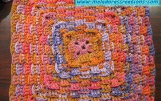 Basket Weave Granny Multi colored 600 WM