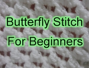 Butterfly Stitch For beginners
