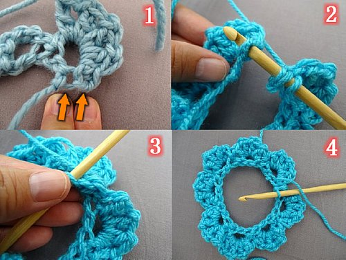 Crochet Fingerless Gloves Tutorial Butterfly Stitch : Meladoras Creations Butterfly Stitch Fingerless Gloves ...