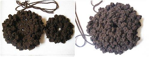 Crochet Sunflower Pillow - Free Crochet Pattern