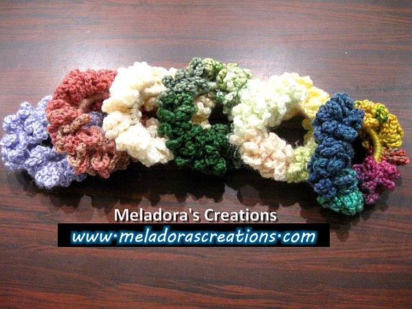 Crochet Hair Accessory Archives Meladoras Creations