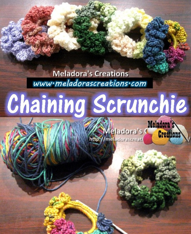 Chaining-Scrunchies Pinterest