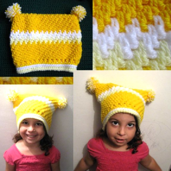 Childs Mesh Hat multi pic 2