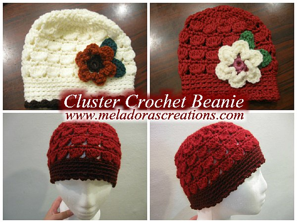 Free Crochet Pattern For Cluster Beanie : Meladoras Creations Cluster Crochet Beanie ? Free ...