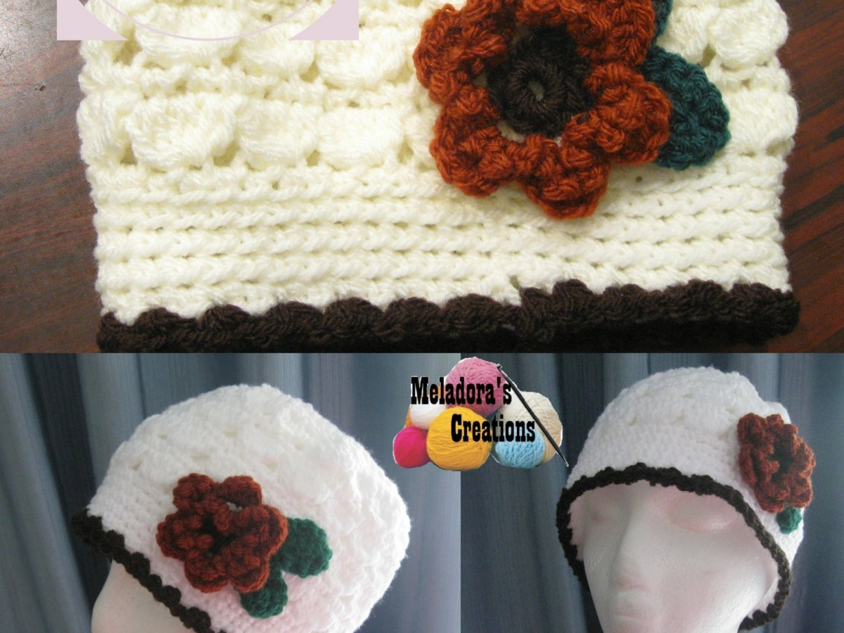 Free Crochet Pattern For Cluster Beanie : Meladoras Creations Cluster Crochet Beanie