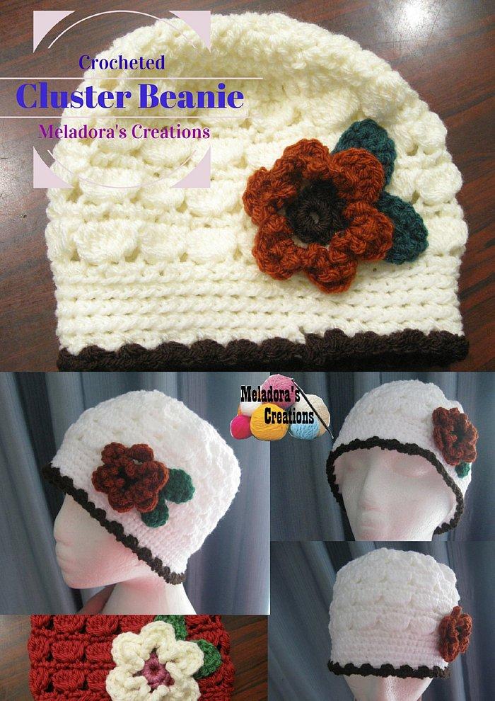 Cluster Crochet Beanie - Free Crochet Pattern