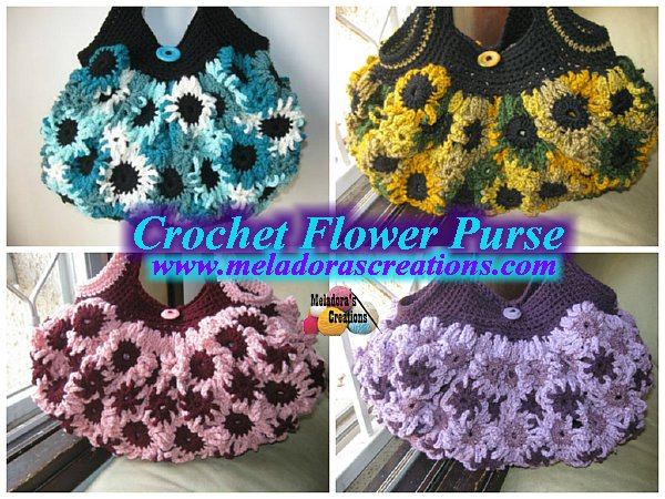 Crochet Flower purse combined 600 WM