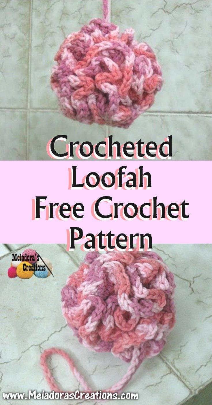 Crocheted Loofah - Free Crochet Pattern