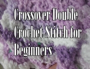 Crossover stitch for beginners