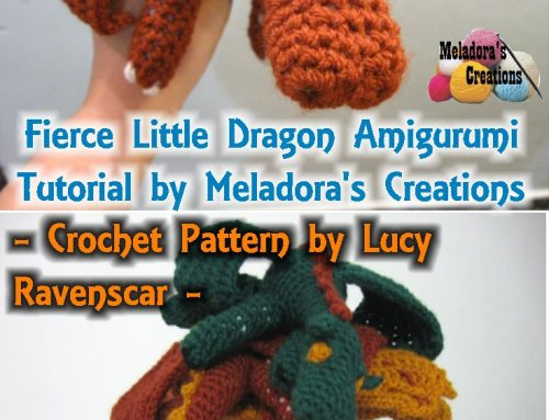 Amigurumi Fierce Dragon – Free Crochet pattern