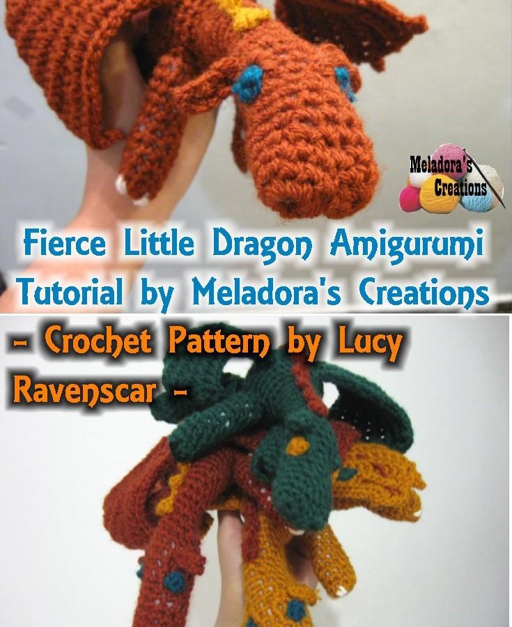 Fierce Little Dragon Amigurumi Pinterest