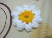 Puff Flower Granny Square  - Free Crochet Pattern