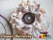 Flower Barrette 600 WM