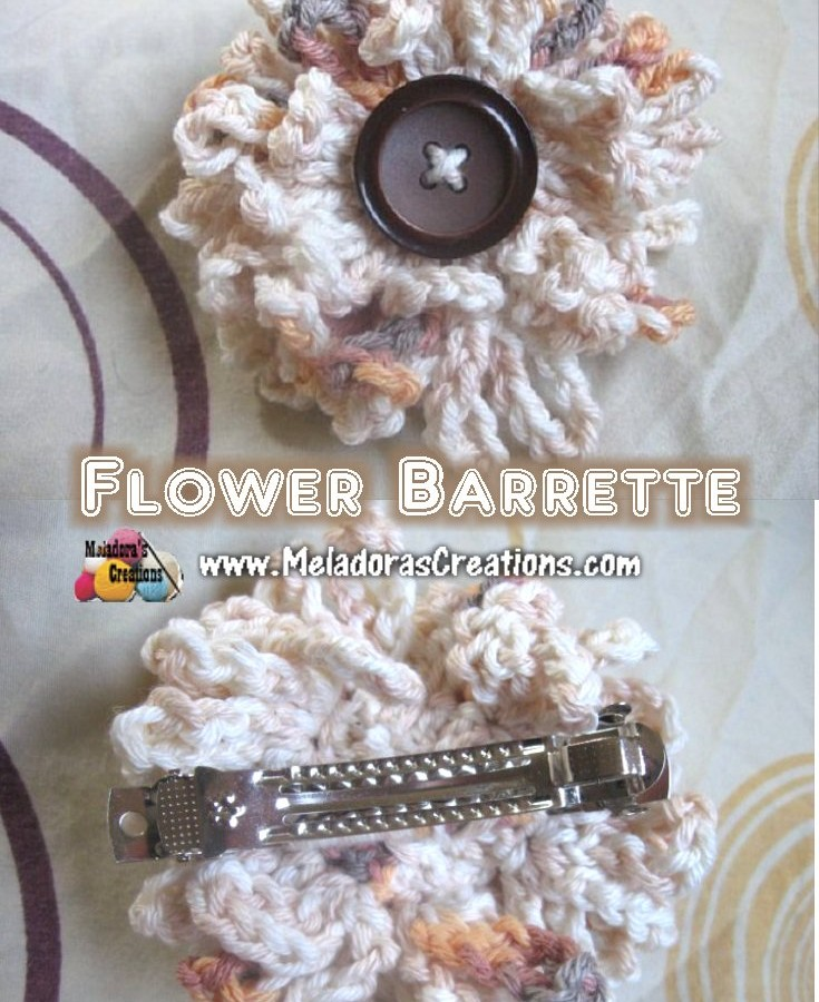 Flower Barrette pinterest