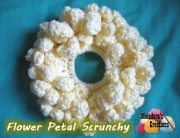 Flower Petal Scrunchie 600 WM