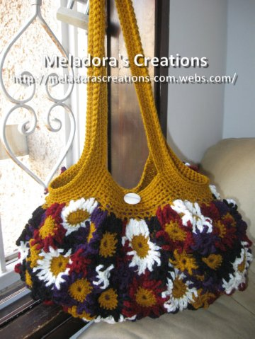 Crochet Flower Purse Free Crochet Pattern