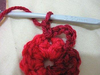 Flower Spiral Motif - Free Crochet Pattern