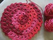 Flower Spiral Motif Pattern 1 -1