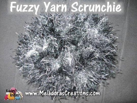 Fuzzy Scrunchie web page