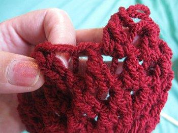 Crochet Finger less Crochet Gloves Pattern - Butterfly Stitch Fingerless Gloves - Free Crochet Pattern