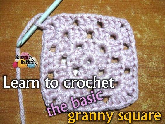 Basic Granny Square - Free Crochet Pattern