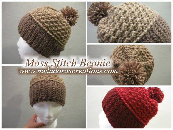Moss Stitch Beanie C