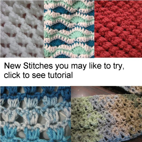 Crochet Stitches Multicolor : Crochet Stitches - Free Crochet Patterns