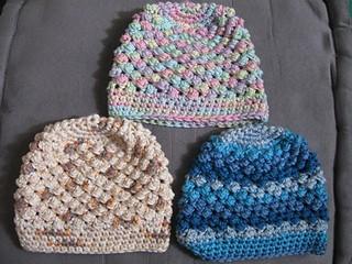 Raspberry Stitch Beanie - All Sizes - Free Crochet Pattern