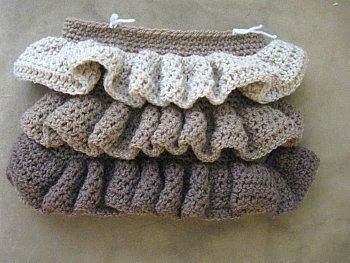 Ruffle Bag 18