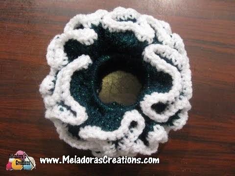 Double Crochet Scrunchie Free Crochet Pattern