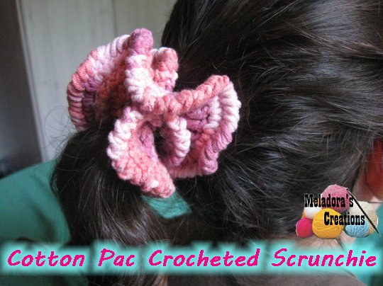 Simple Cotton Scrunchie 600 WM