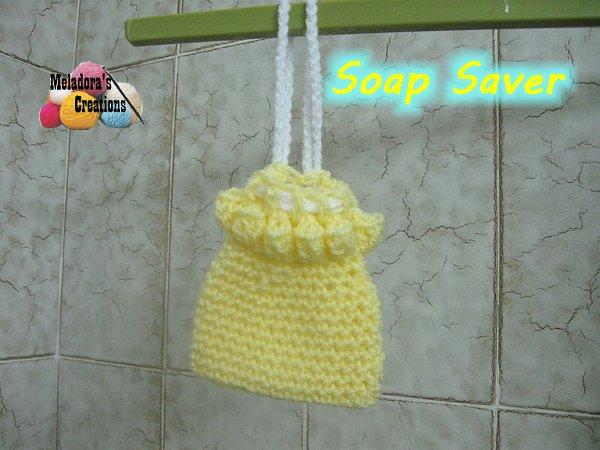 Crocheted Soap Saver Free Crochet Pattern