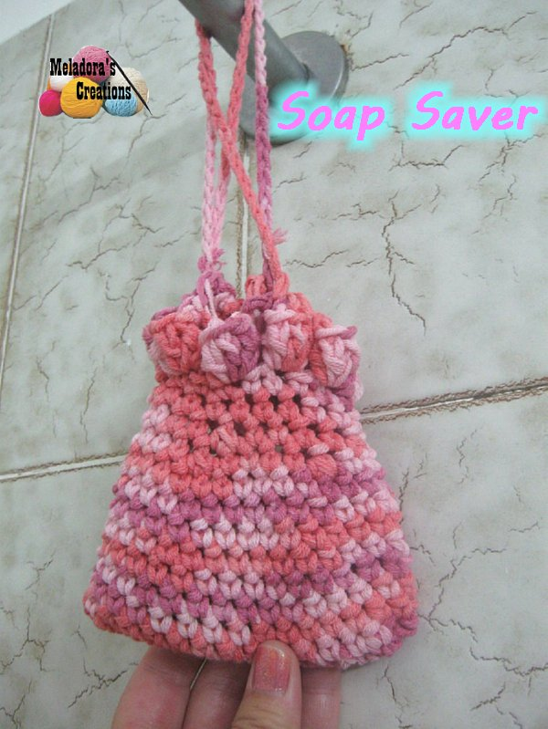 Meladoras Creations Crocheted Soap Saver Free Crochet