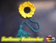 Sunflower Book Marker 600 WM