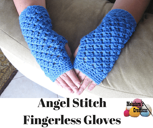 Angel Stitch Finger Less Gloves Free Crochet Pattern Extraordinary Free Pattern For Fingerless Gloves