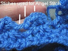Angel Stitch Fingerless Gloves 6