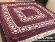 Basket Weave Granny Afghan Display Pic
