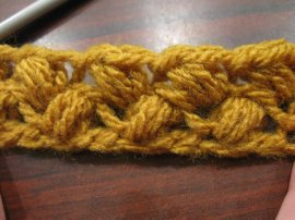 Bean Stitch 5