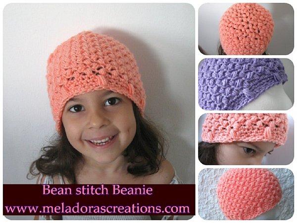 Bean Stitch Beanie Comb 600 WM