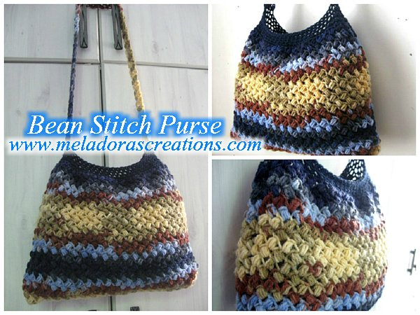 Bean Stitch Purse co