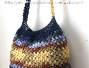 Bean Stitch Purse finished 3