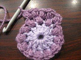 Bean stitch Coasters 2