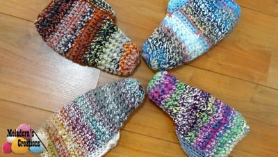 beginner crochet Booties Pattern
