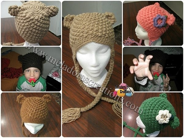 Bumpy Bear Beanie co small WM