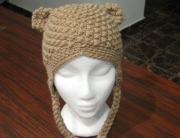 Bumpy Bear Hat Light brown 1 CROPPED - small