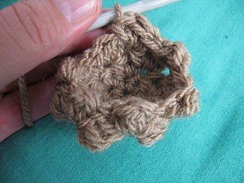 Bumpy Bear Crochet Beanie - Teddy Bear Hat - Free Crochet Pattern