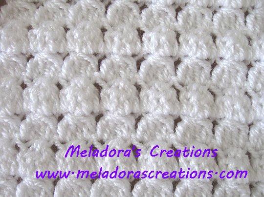 Cluster Stitch Scarf Free Crochet Pattern