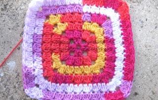 Cluster granny Square 15 600 WM