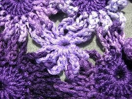 Crochet Flower Dress 41
